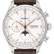 Union Glashütte Belisar Chronograph Steel 44mm White