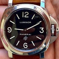 Panerai PAM 00000 Stahl 2017 Luminor Base Logo 44mm gebraucht