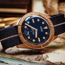 Oris Carl Brashear Bronze 40mm Blue