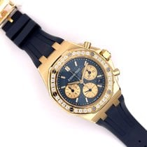 Audemars Piguet Royal Oak Offshore Lady Gelbgold 37mm Blau