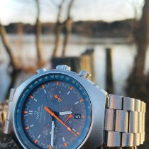 Omega Speedmaster Mark II Steel 42.4mm Grey No numerals United States of America, New Jersey, Vineland
