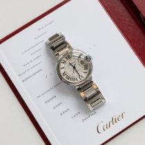 Cartier Ballon Bleu 36mm gebraucht 36mm Silber Stahl