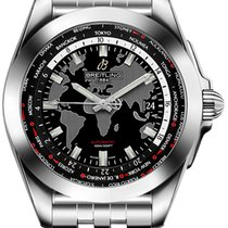 Breitling Galactic Unitime Steel 44mm Black United States of America, California, Moorpark