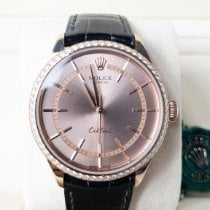 Rolex Cellini Time Oro rosa 39mm Rosa Sin cifras