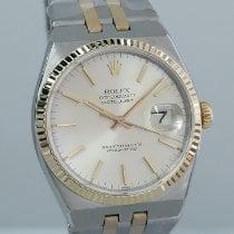 Rolex Datejust Oysterquartz Gold/Steel 36mm Silver No numerals UAE, Dubai