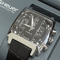 TAG Heuer Monaco Calibre 36 40mm Negro