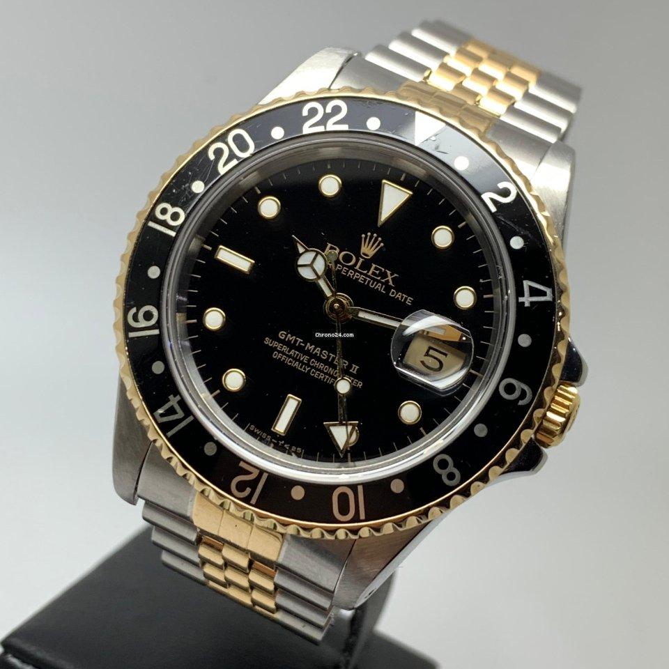 Rolex GMT-Master II 18K Gold Steel Jubilee