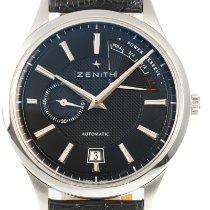 Zenith Acier 40mm Remontage automatique 03.2120.685 occasion