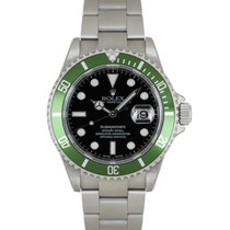 Rolex Submariner Date Stal 40mm Czarny