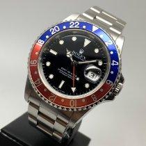 Rolex GMT-Master Ατσάλι 40mm Μαύρο Xωρίς ψηφία Ελλάδα, ATHENS