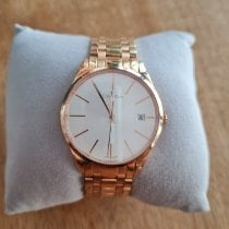 ck Calvin Klein Rose gold Manual winding Silver 3.5mm pre-owned