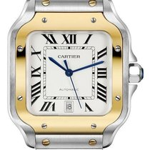 Cartier Santos (submodel) Santos Large Gold/Steel 39.8mm Automatic Australia