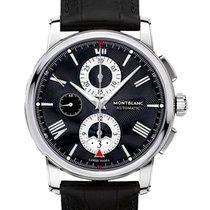 Montblanc 4810 Steel 43mm Black Roman numerals