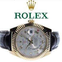Rolex Sky-Dweller Gelbgold 42mm Silber Römisch Deutschland, Essen
