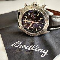 Breitling Blackbird Steel 44mm Black No numerals