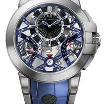 Harry Winston new Automatic 42mm Steel Sapphire crystal