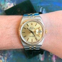 Rolex Datejust Oysterquartz Or/Acier 36mm Or Sans chiffres