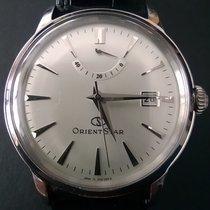 Orient (オリエント) 新品 自動巻き シースルーバック パワーリザーブ表示 38.5mm ステンレス ミネラルガラス