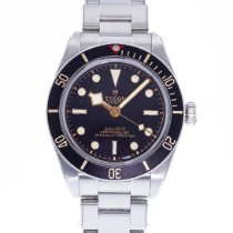 Tudor Steel Automatic Black 39mm pre-owned Black Bay Fifty-Eight