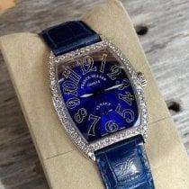 Franck Muller Casablanca White gold 28.5mm Blue Arabic numerals United Kingdom, London