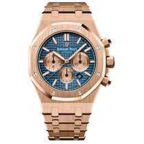 Audemars Piguet Royal Oak Chronograph Rose gold 41mm Blue No numerals United States of America, Florida, Coconut Creek