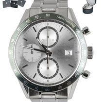 TAG Heuer CV2011 Steel Carrera Calibre 16 41mm pre-owned United States of America, New York, Smithtown