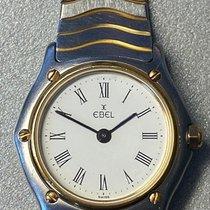 Ebel Classic Золото/Cталь 28mm Белый Римские