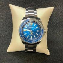 Seiko Prospex Steel 43.8mm Blue No numerals