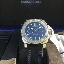 Panerai Luminor Submersible Titan 47mm Svart Inga siffror