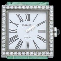 Chanel Mademoiselle Steel 23mm White Roman numerals