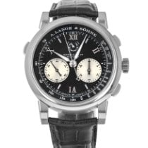 A. Lange & Söhne pre-owned Manual winding 43mm Black Sapphire crystal
