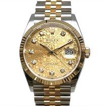 Rolex (ロレックス) Datejust 126233G 非常に良い ゴールド/スチール 36mm 自動巻き 日本, Osaka