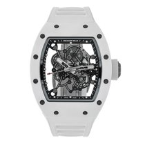Richard Mille Ceramic Manual winding Transparent No numerals 42mm pre-owned RM 055