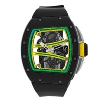 Richard Mille RM 061 Carbon 42mm Transparent No numerals