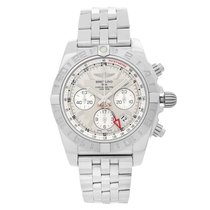 Breitling Chronomat 44 GMT Steel 44mm Silver United States of America, New York, NYC