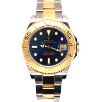 Rolex Yacht-Master Gold/Steel 35mm Blue No numerals United States of America, Florida, Boca Raton