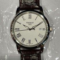 Tissot Classic Dream Stahl 38mm Weiß Römisch