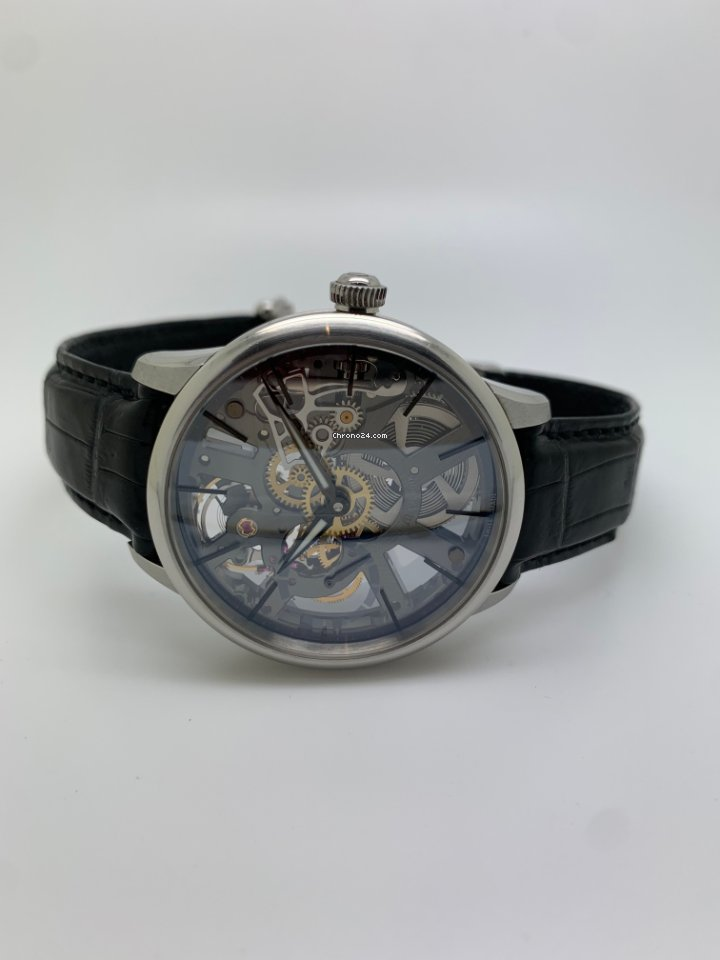 Maurice Lacroix Masterpiece Squelette mp7138 2008 pre-owned