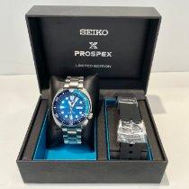 Seiko Prospex pre-owned 45mm Blue Date Steel
