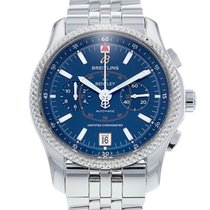 Breitling Bentley Mark VI Steel 42mm Blue No numerals United States of America, New Jersey, Edgewater