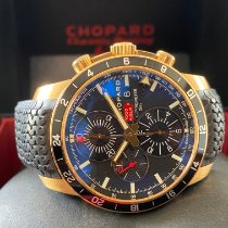 Chopard Rose gold Automatic Black pre-owned Mille Miglia