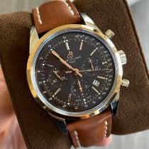 Breitling Transocean Chronograph Gold/Steel 43mm Brown United States of America, California, Los Angeles
