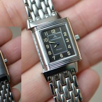 Jaeger-LeCoultre Reverso Lady Steel 19.5mm Grey Arabic numerals