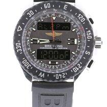 Breitling Airwolf Steel 44mm Grey Arabic numerals