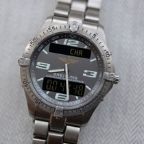 Breitling Aerospace E75362 Good Titanium 40mm Quartz
