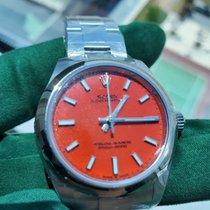 Rolex Oyster Perpetual Steel 31mm Red No numerals UAE, DUBAI