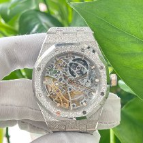 Audemars Piguet 15466BC.GG.1259BC.01 White gold Royal Oak Double Balance Wheel Openworked 37mm pre-owned
