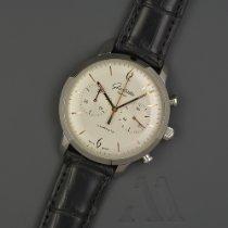 Glashütte Original Sixties Chronograph 1-39-34-03-22-04 Sehr gut Stahl 42mm Automatik Deutschland, Großhansdorf