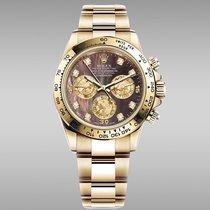 Rolex 116508 Or jaune 2021 Daytona 40mm nouveau