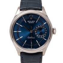 Rolex Cellini Date White gold 39mm Blue No numerals United Kingdom, Radlett
